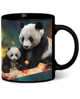 Space Pizza Panda Coffee Mug