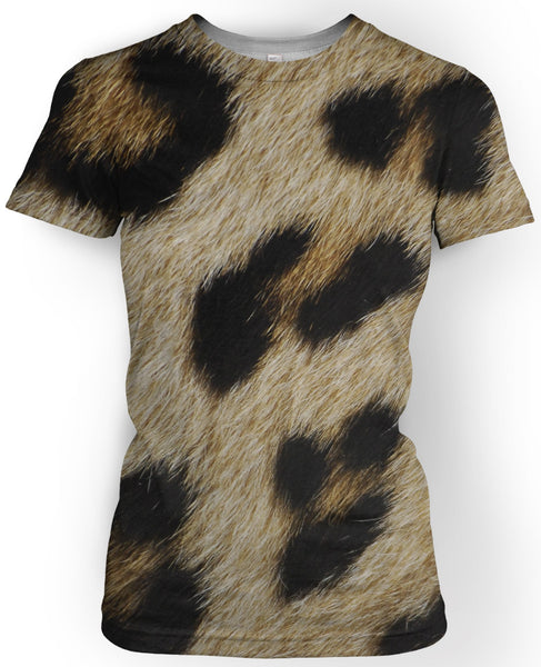 Leopard Fur T-Shirt