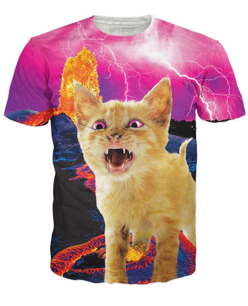 Volcanic Kitty T-Shirt