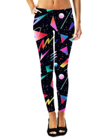 Galaxy Shapes Leggings