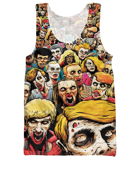 Zombies At The Mall Tank Top