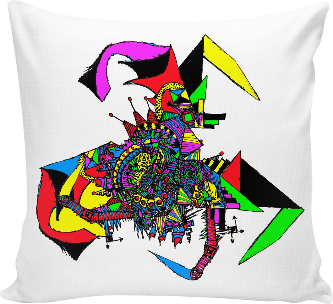 Alien Bat Mobile Couch Pillow