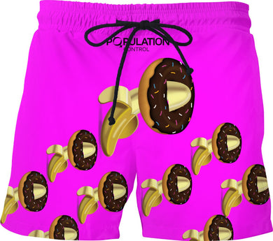 BANANAS AN DONUTS SWIM TRUNKS
