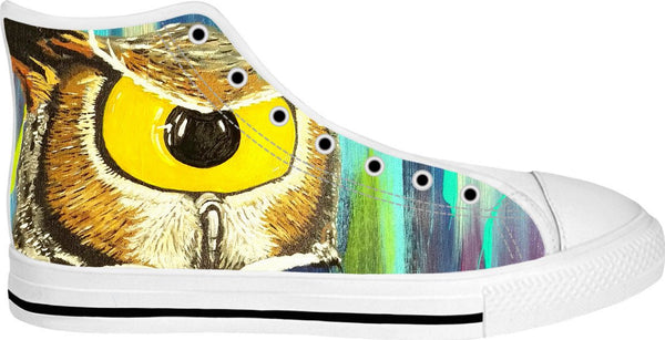 Spirit Animal Sight: Owl High Top Shoes