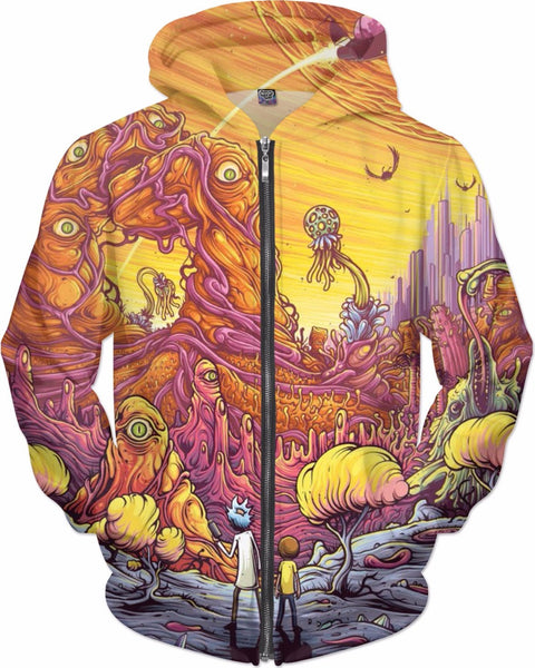Rick and Morty Explorers Hoodie
