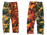 50/50 Color Camo Cargo Pants