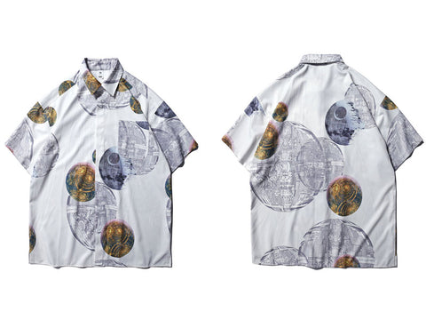Galaxy Beach Shirt