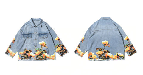 Fiori Denim Jacket