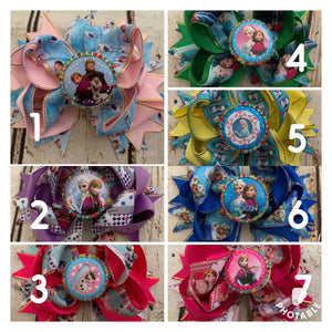 BottleCap Princess Bows
