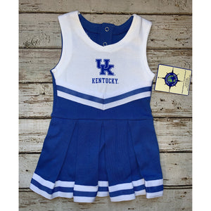University of Kentucky One Piece Cheer Outfit