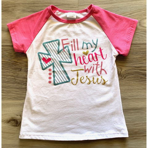 Fill My Heart with Jesus Top