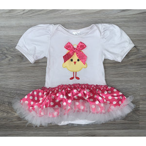 Little Chick Tutu Romper