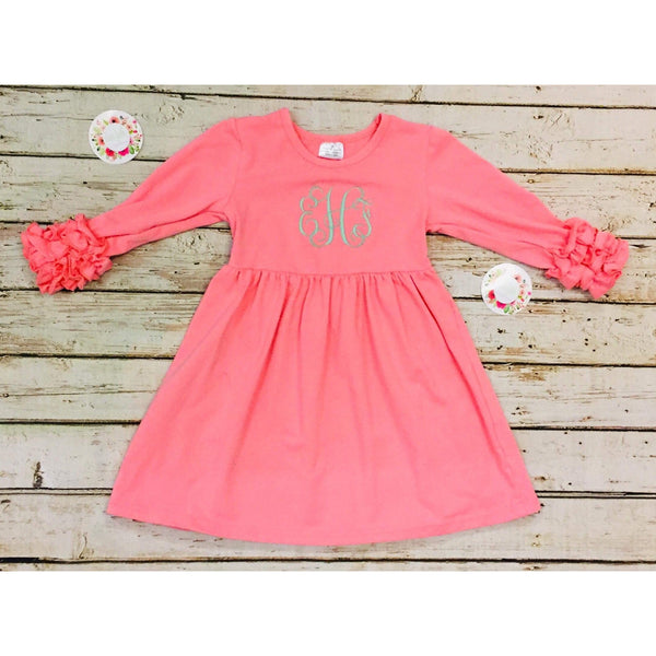 Icing Dress (Coral)