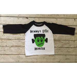 Mommy's Little Monster Raglan