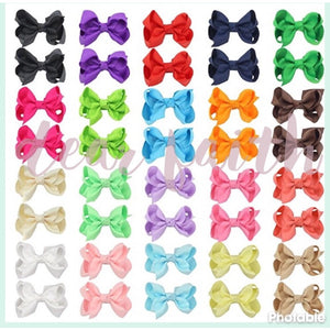 Piggytail Bow Set (40ct.)