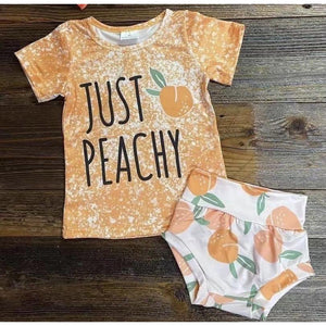 Just Peachy Top with Bloomers (PREORDER)