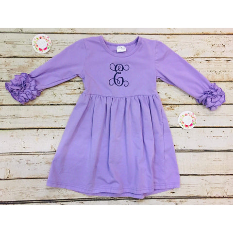 Icing Dress (Lavender)
