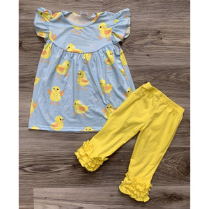 Light Blue Chick Set