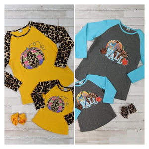 Mommy and Me Fall Raglans (PREORDER)