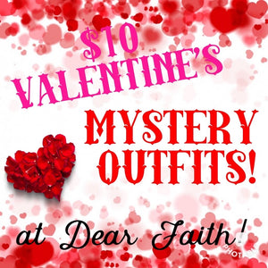 Girls Valentine's Mystery Outfits
