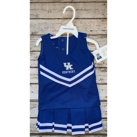 University of Kentucky Cheer Leading Two Piece Set