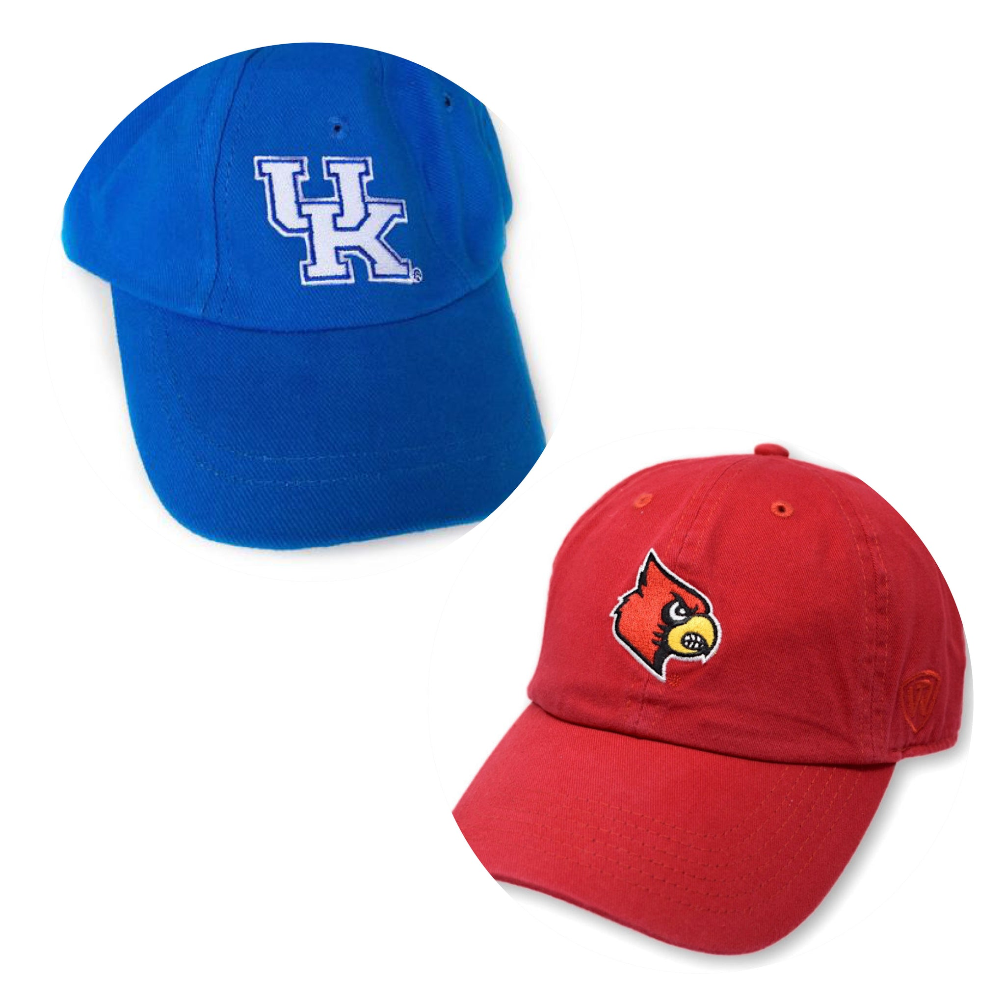 Collegiate Baseball Caps