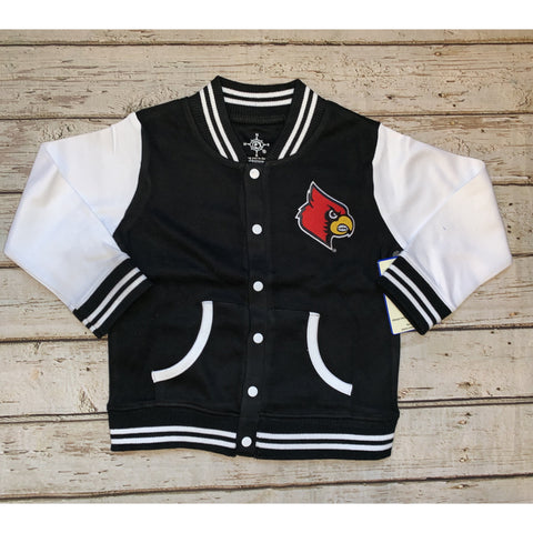 University of Louisville Varsity Jacket (black)
