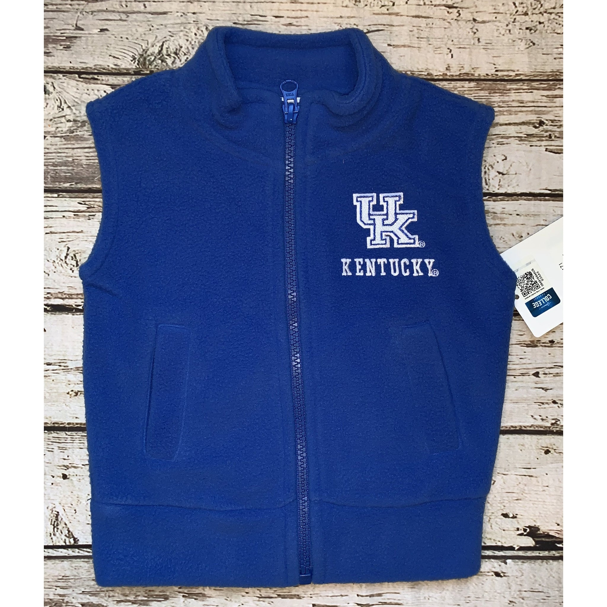 University of Kentucky Fleece Vest