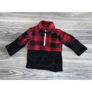 Buffalo Plaid Sherpa