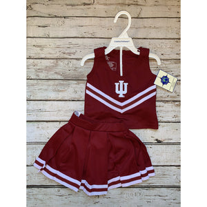 Indiana University Cheer Leading Two Piece Set
