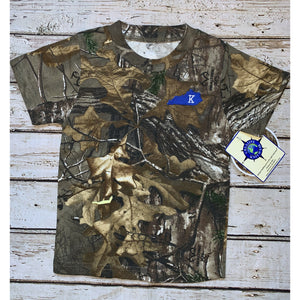 University of Kentucky Map Camo T-Shirt