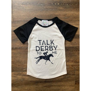 Talk Derby To Me Raglans