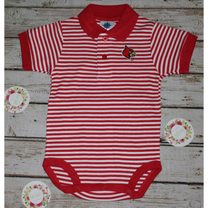 University of Louisville Collegiate Polo Bodysuit