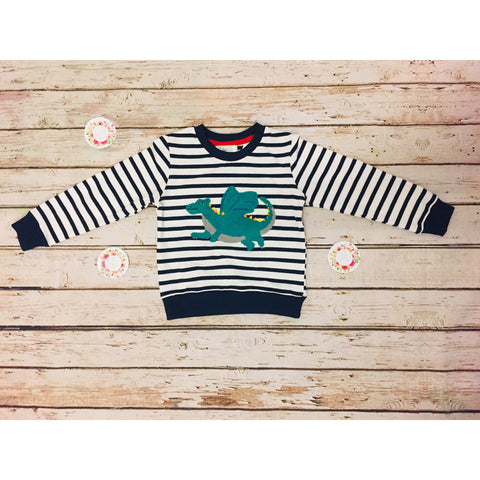 Striped Dragon Sweater