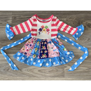 Baby Sharked Themed Dress