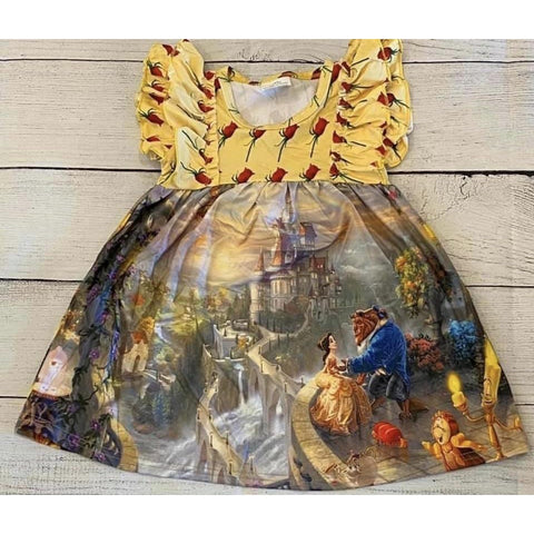 Beast Picture Dress