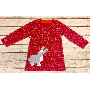 Appliqué Bunny Dress
