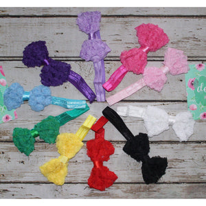 Lace Head Bands (10 count)
