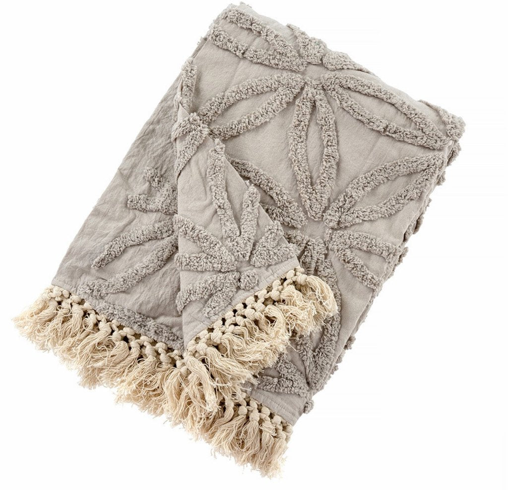Tufted Lola Throw