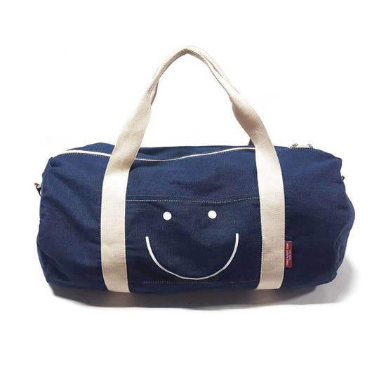 Denim Duffle Bag