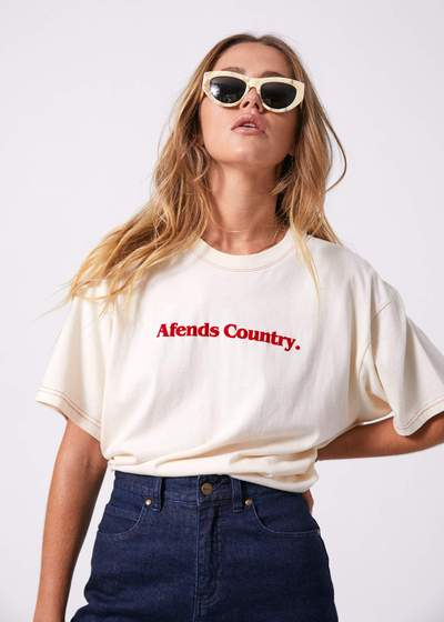 Afends County Oversized Tee