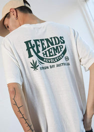 Bugle Hemp Retro Fit Tee