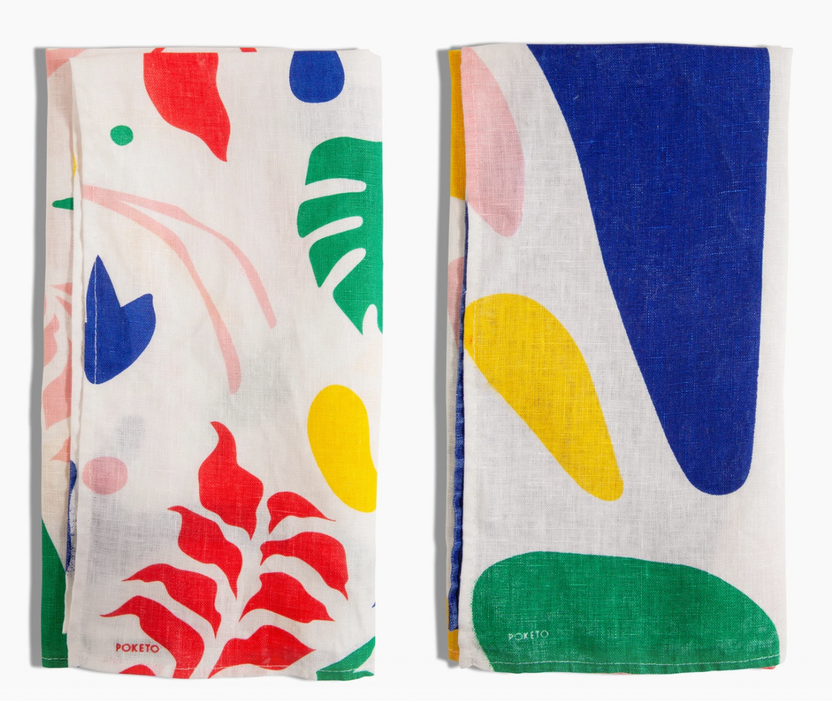 Abstract Tea Towel