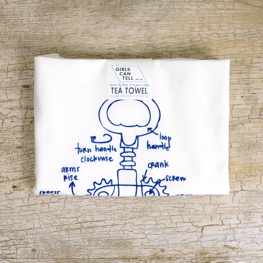 Girls Can Tell Tea Towels