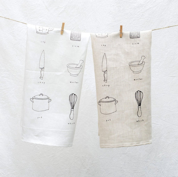 Cooking Tea Towel