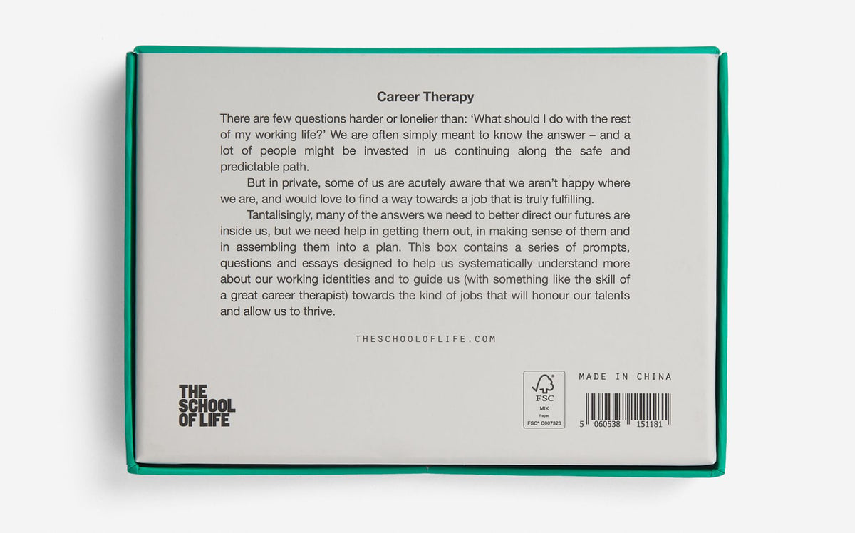 Career Therapy Card Set