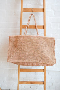Made in Mada - Large Alice bag - Tea and Light Pink