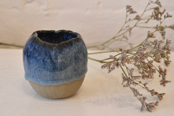 Daisy Cooper - Small Vase - Blue - Folkstore Fitzroy