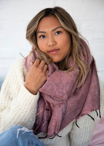Hobo and Hatch - Heather Wrap Scarf