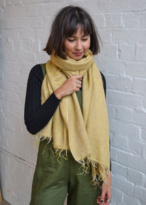 Hobo and Hatch - Scarf/Shawl - Butterscotch